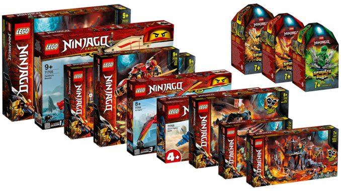 LEGO Ninjago Neuheiten Sommer 2020