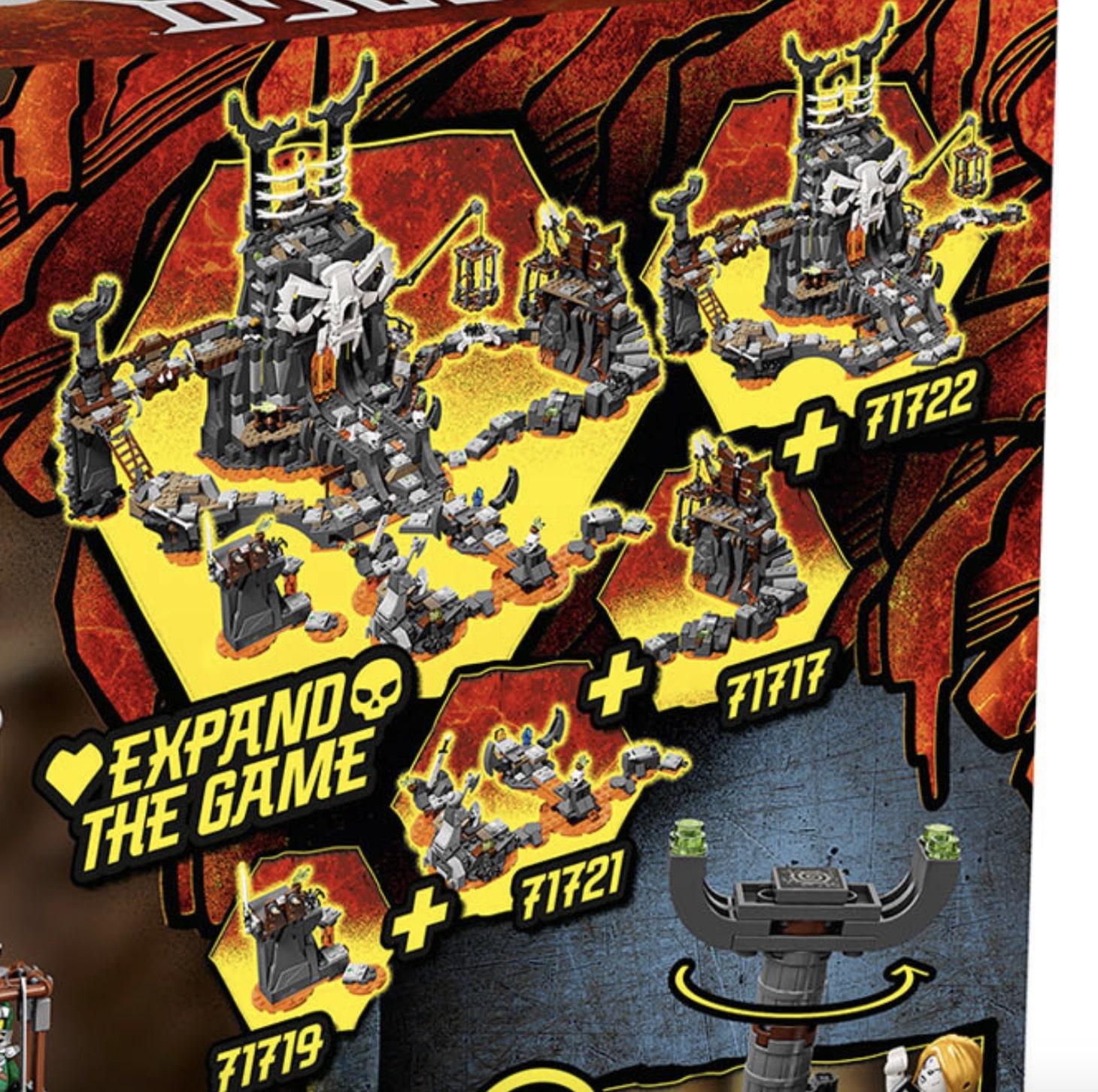 LEGO Ninjago Sommer 2020 Brettspiel-Funktion