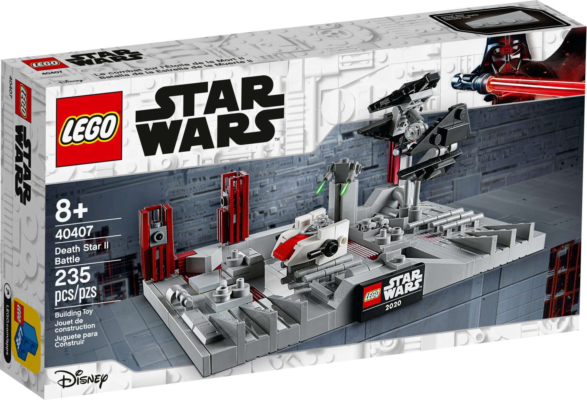 LEGO Star Wars 40407 Death Star 2 Battle als May the 4th Geschenk
