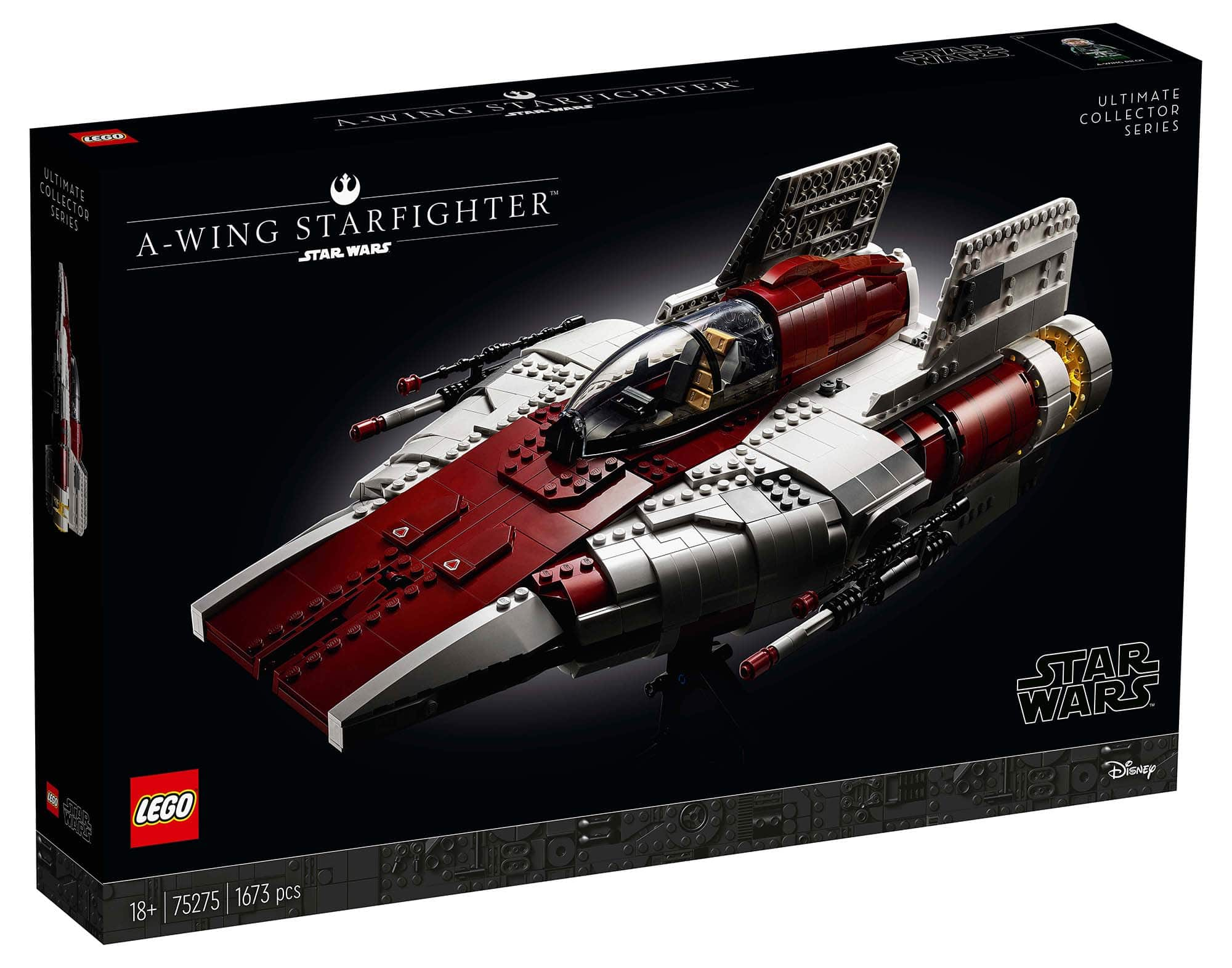LEGO Star Wars 75275 UCS A-Wing Starfighter Box Vorderseite