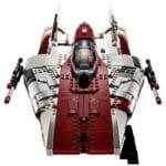 LEGO Star Wars 75275 UCS A-Wing Starfighter Vorderansicht
