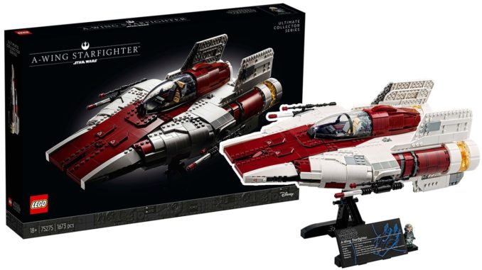 LEGO Star Wars 75275 UCS A-Wing Fighter
