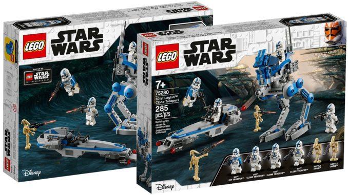 LEGO Star Wars 75280 501st Battle Pack Box