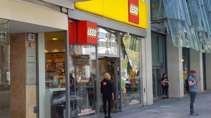 LEGO Brand Stores wieder geöffnet
