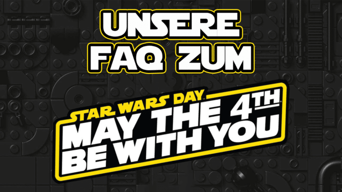 Unsere FAQ zum Star Wars Day: May the 4th be with you