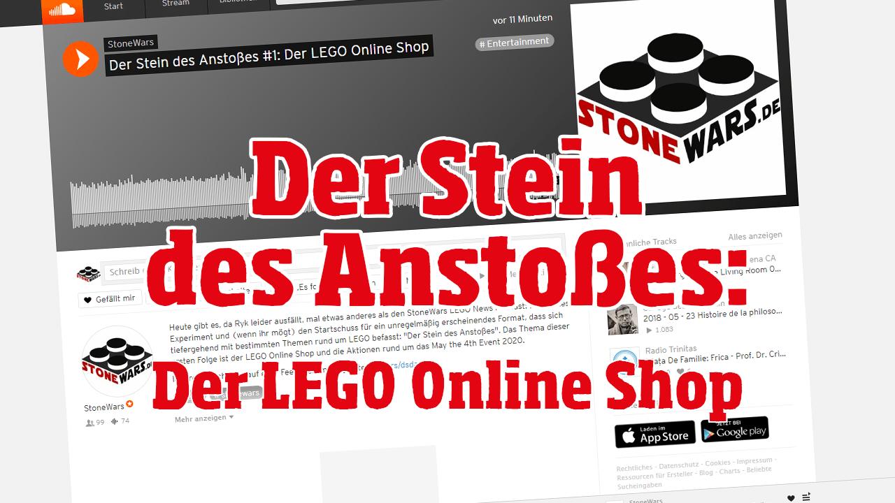 Der Stein Des Anstosses Folge 1: Der LEGO Online Shop