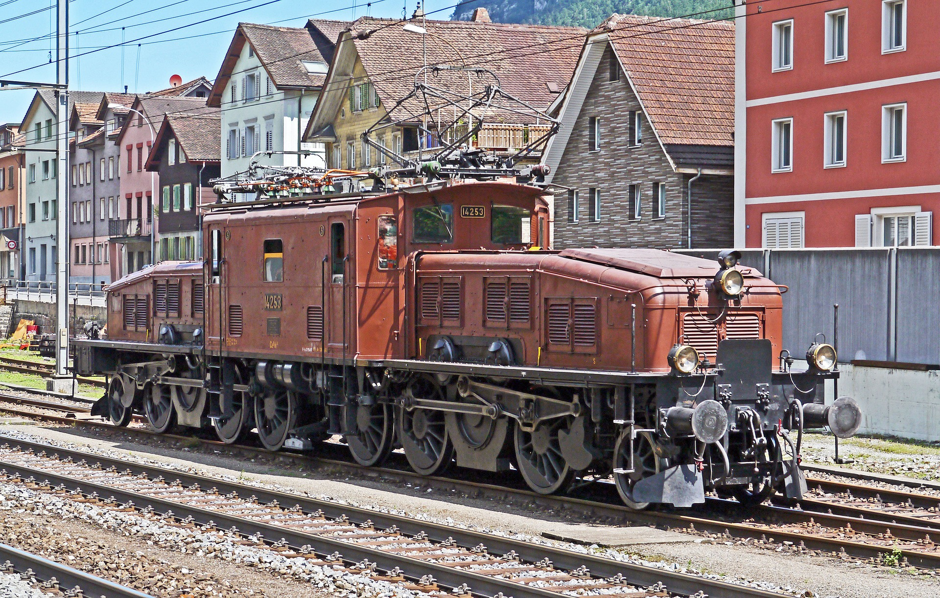 Crocodile Locomotive SBB Ce 6/8 III