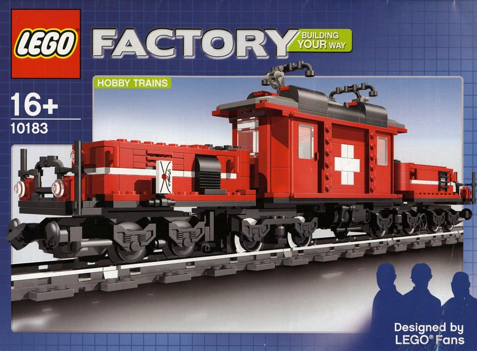 LEGO 10183 Krokodil Lokomotive
