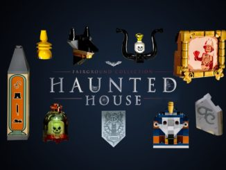 LEGO 10273 Haunted House Easter Eggs