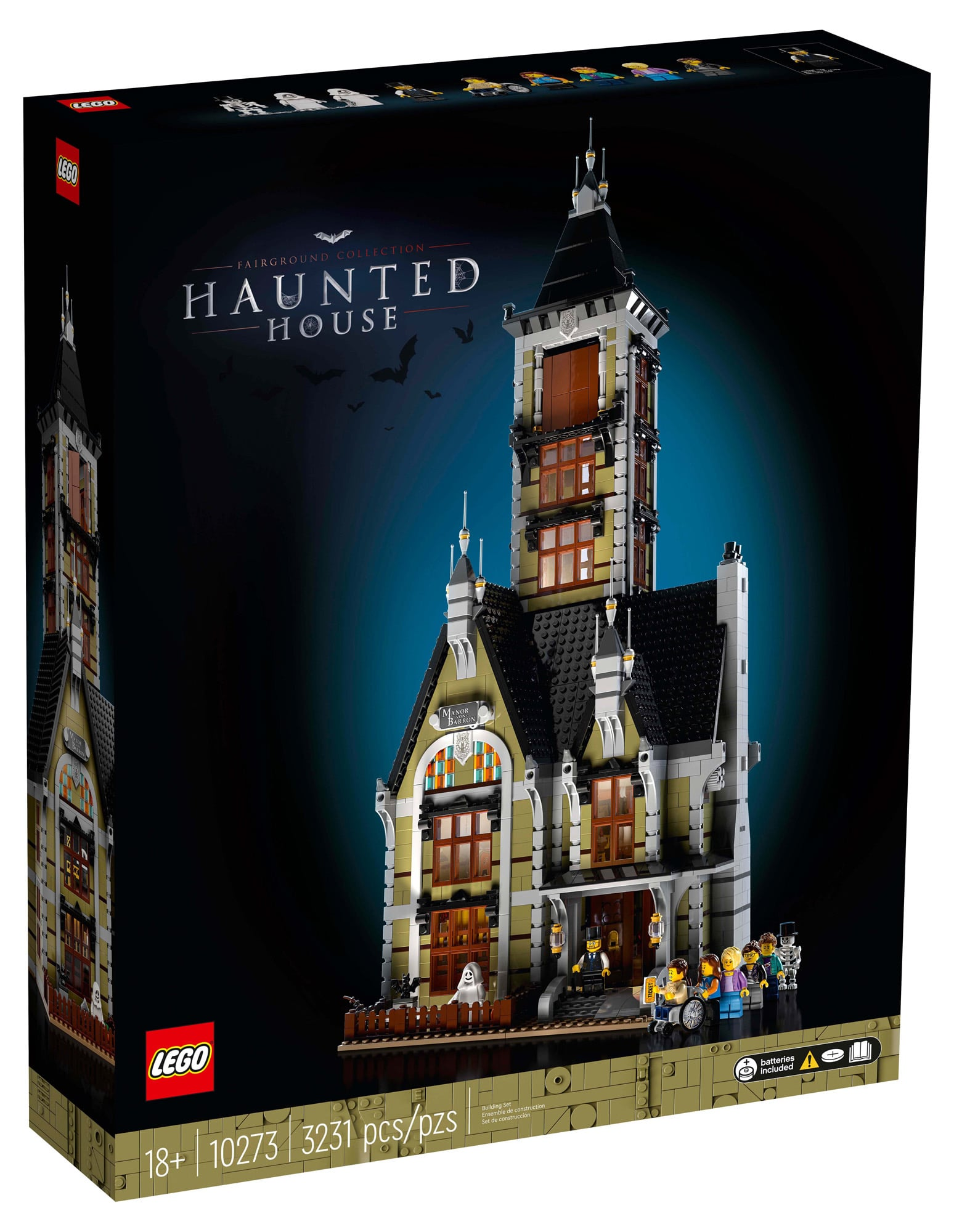 LEGO 10273 Haunted House (Box Front)