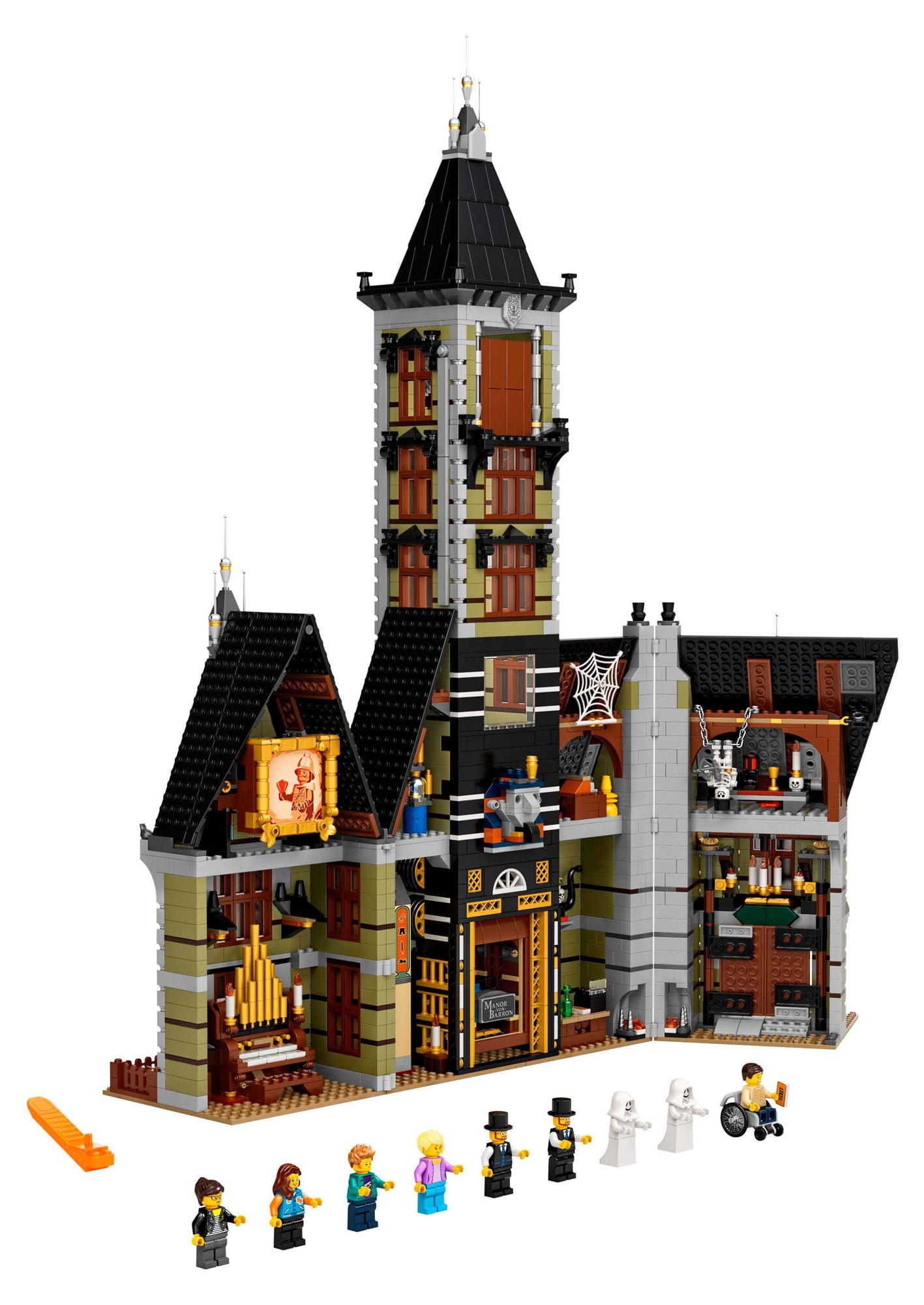 LEGO 10273 Haunted House Fairground Collection