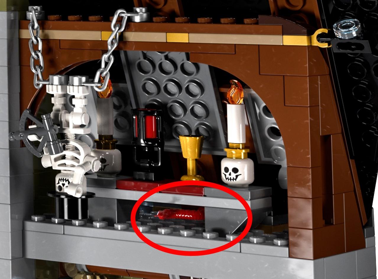 LEGO 10273 Rote Schlange