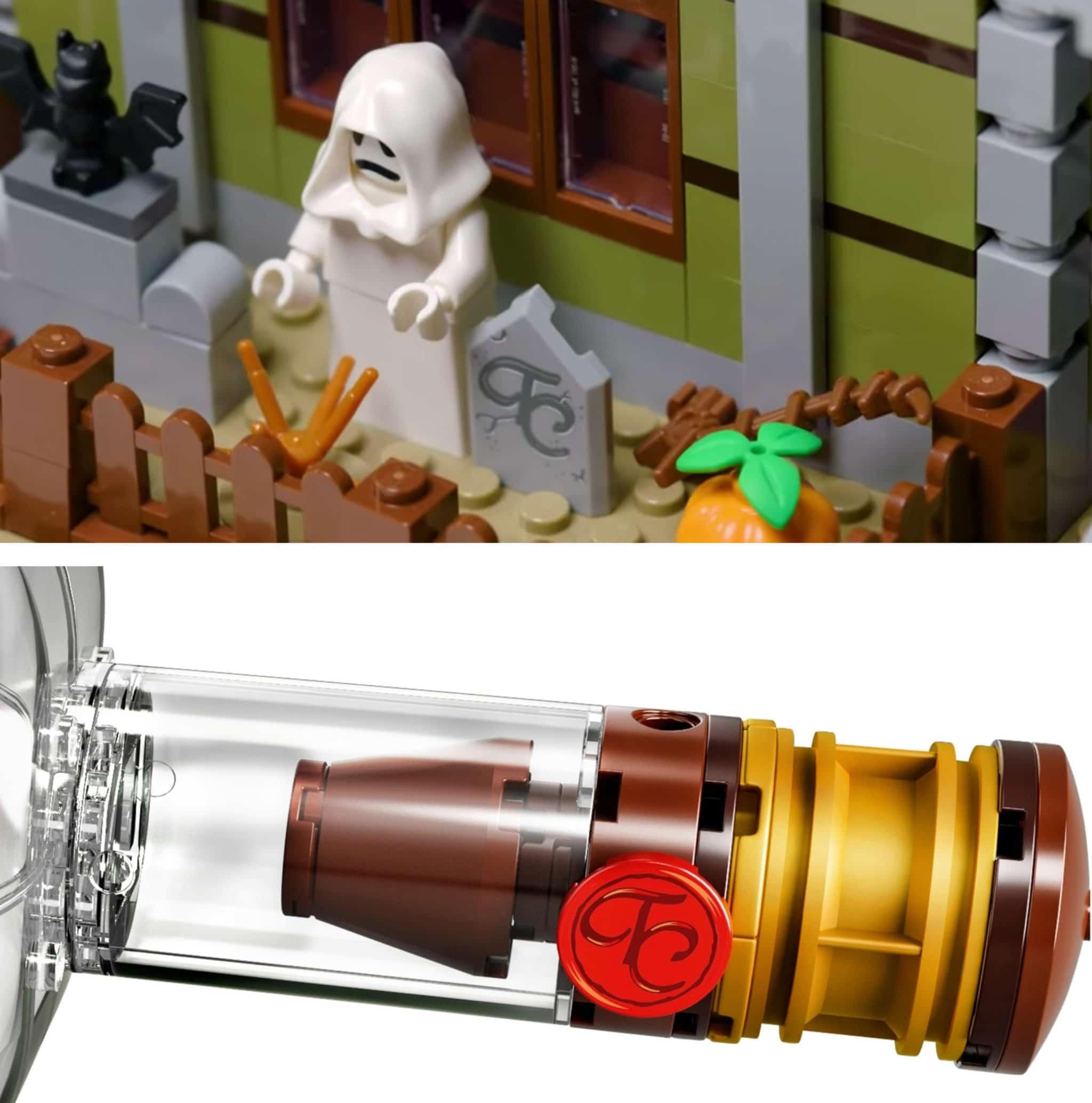 LEGO 10273 Tc Grabstein