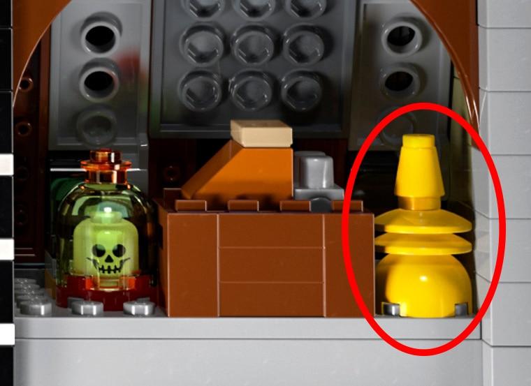 LEGO 10273 Yeti Lampe