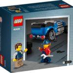 LEGO 40409 Hot Rod (Box Rückseite)