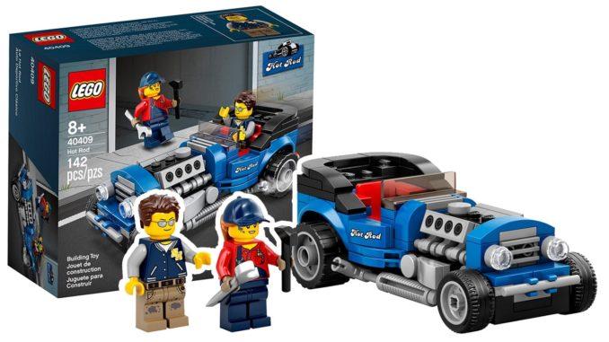 LEGO 40409 Hot Rod Aktion