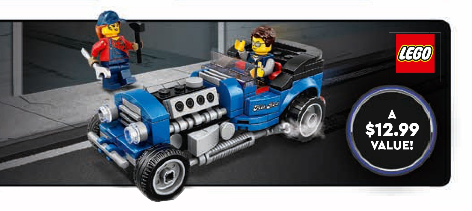 LEGO 40409 Hot Rod GWP