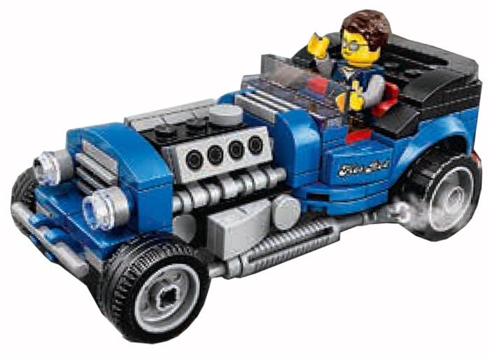 LEGO 40409 Hot Rod Vergleich 1