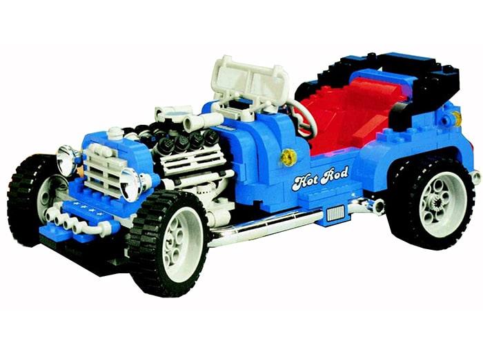 LEGO 40409 Hot Rod Vergleich 2