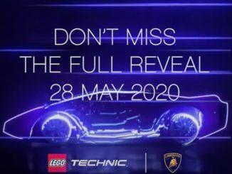 LEGO 42115 Lamborghini Sian Teaser