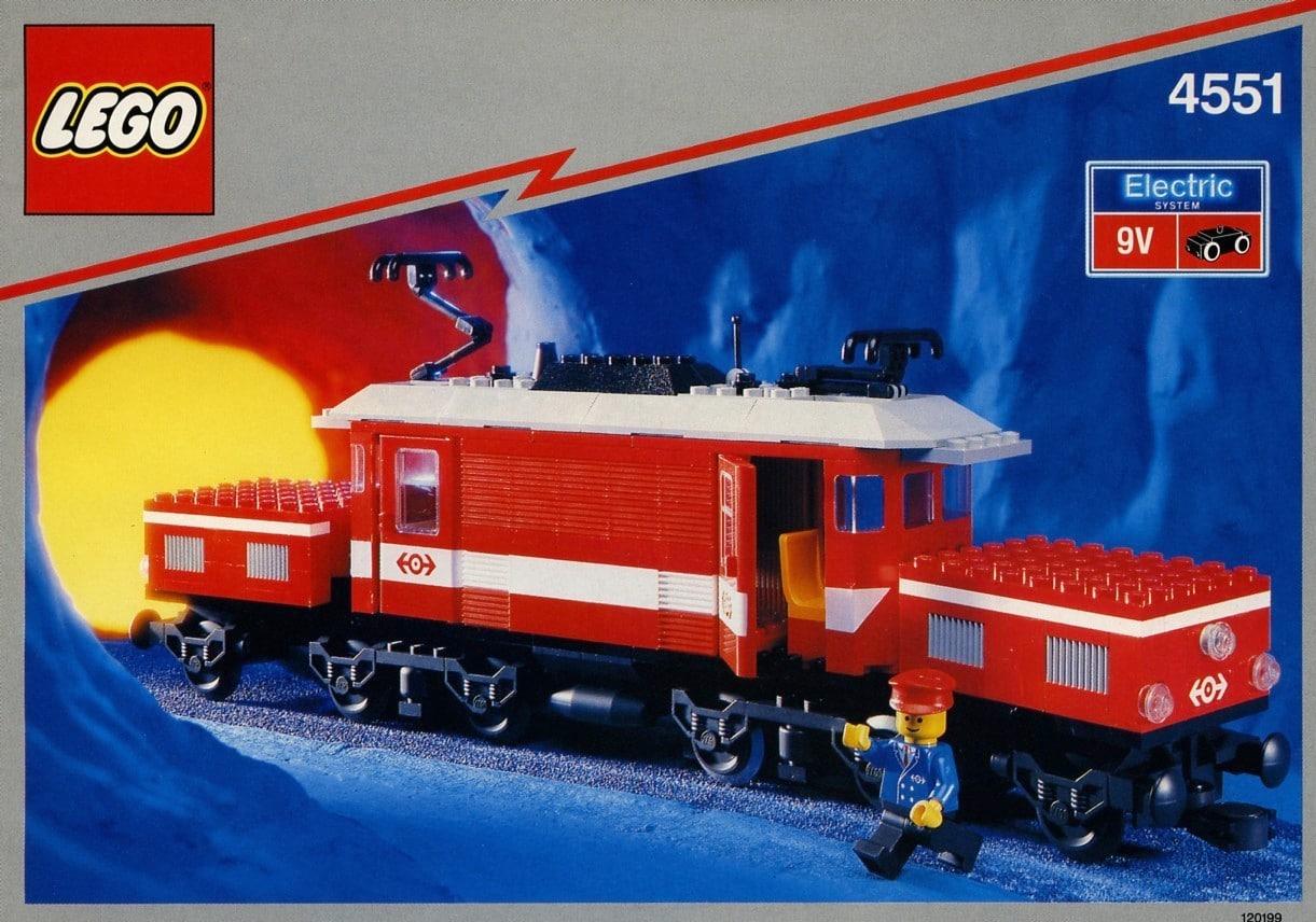 LEGO 4551 Krokodil Lokomotive