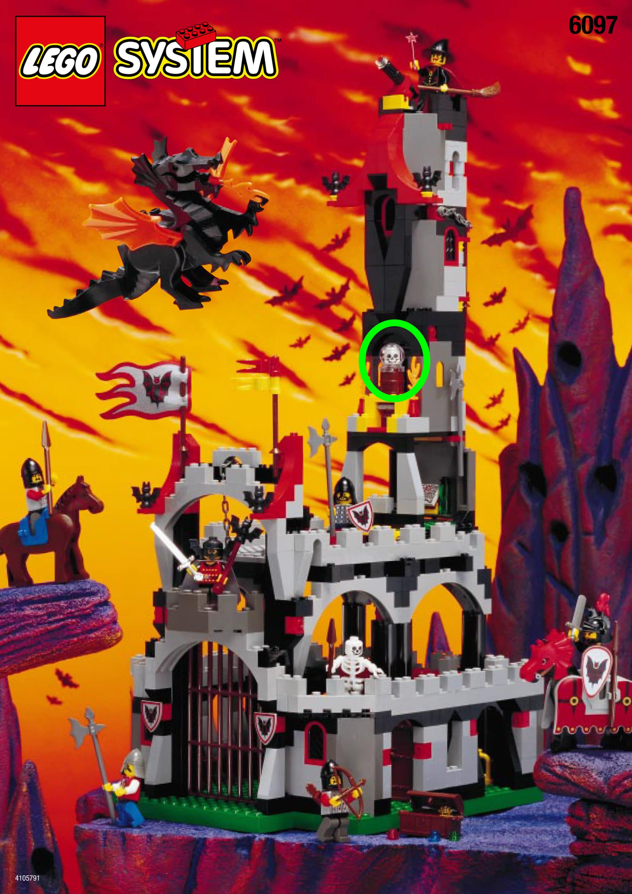 LEGO 6097 Knight Lords Castle