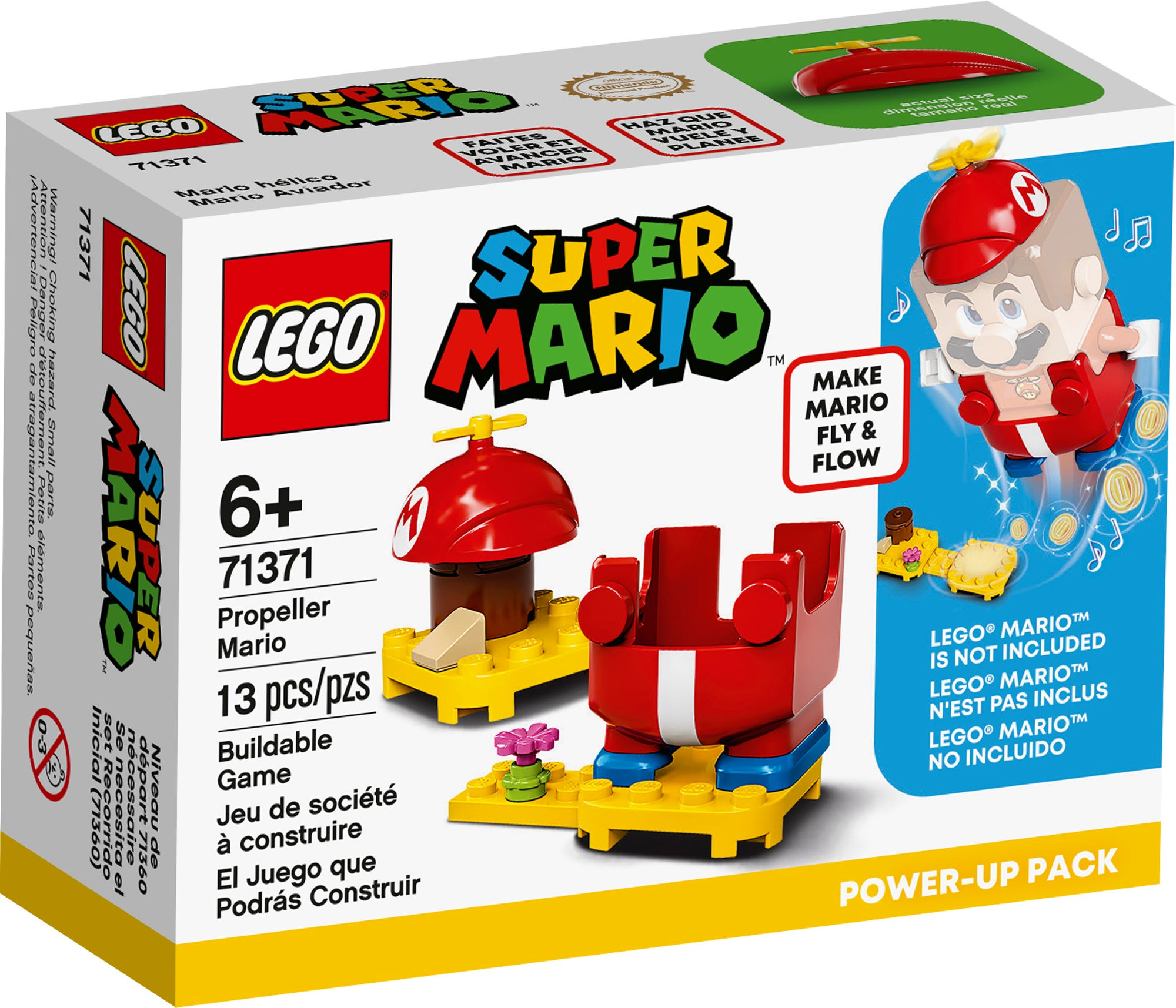 LEGO 71371 LEGO Super Mario Propeller Mario Power Up Pack 2