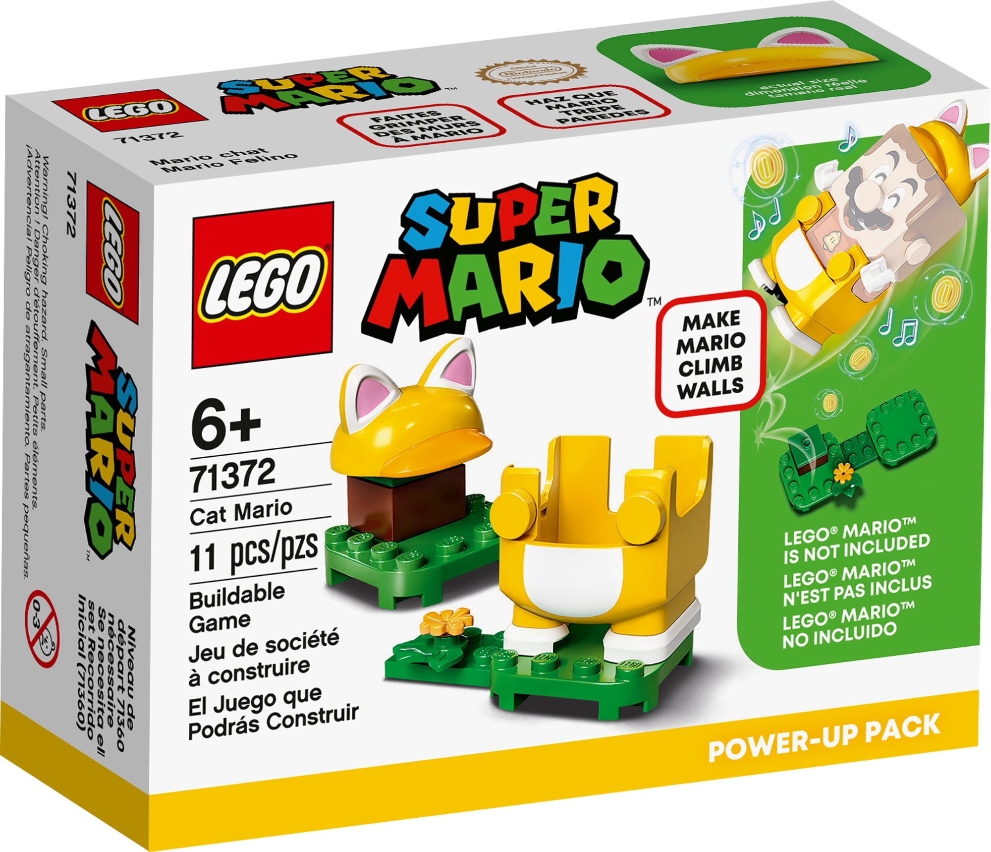 LEGO 71372 LEGO Super Mario Cat Mario Power Up Pack 2