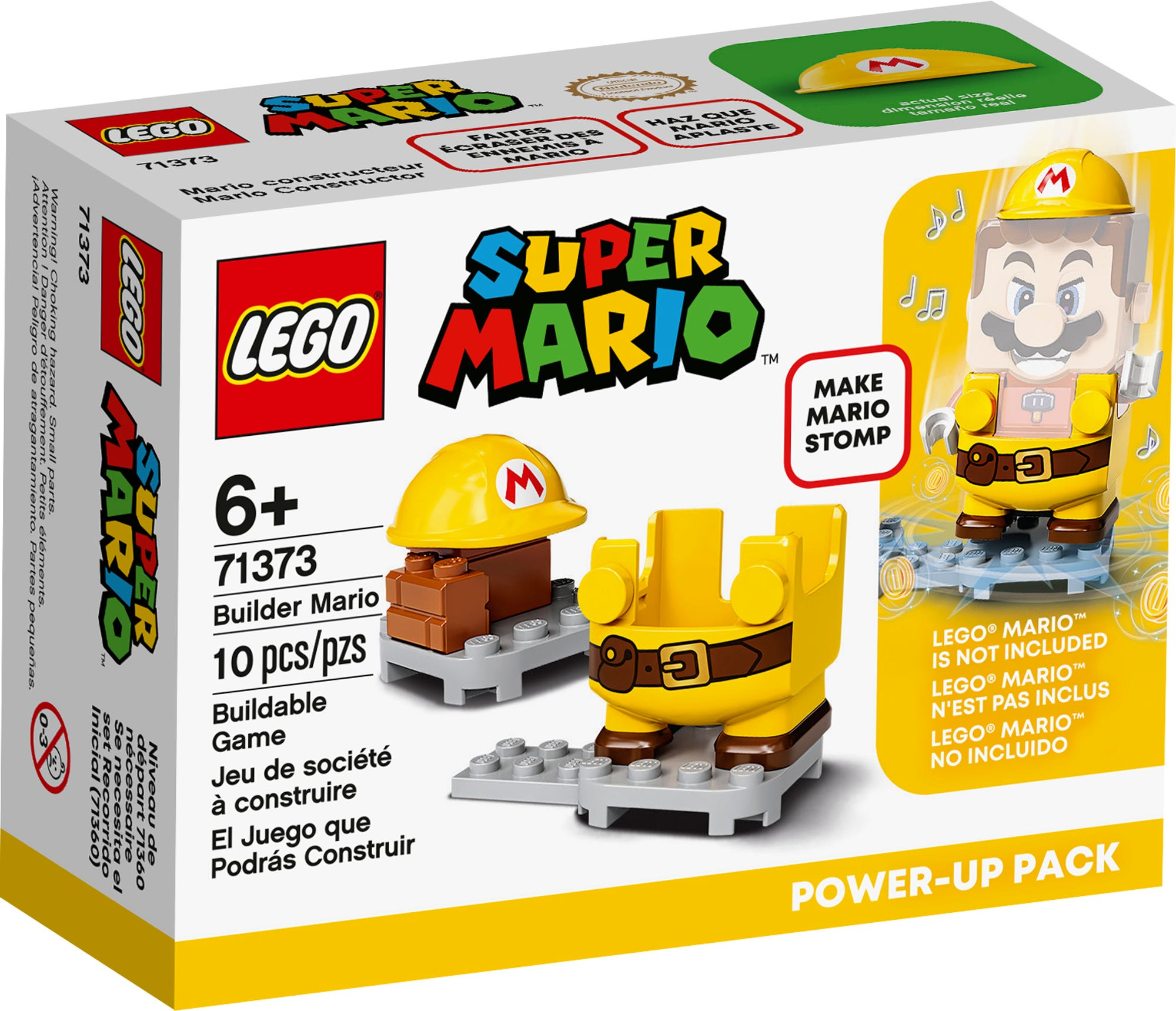 LEGO 71373 LEGO Super Mario Builder Mario Power Up Pack 2