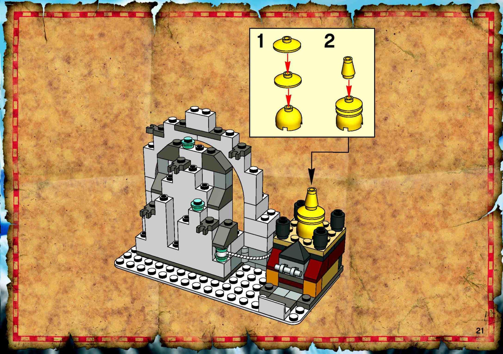 LEGO 7412 Yetis Hideout