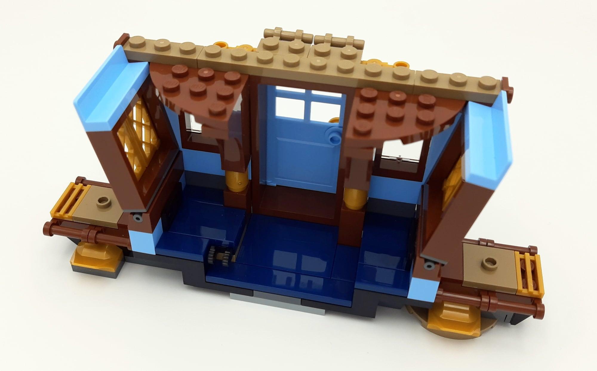 LEGO 75958 Harry Potter Beauxbatons Kutsche Bauabschnitt 1 Außen