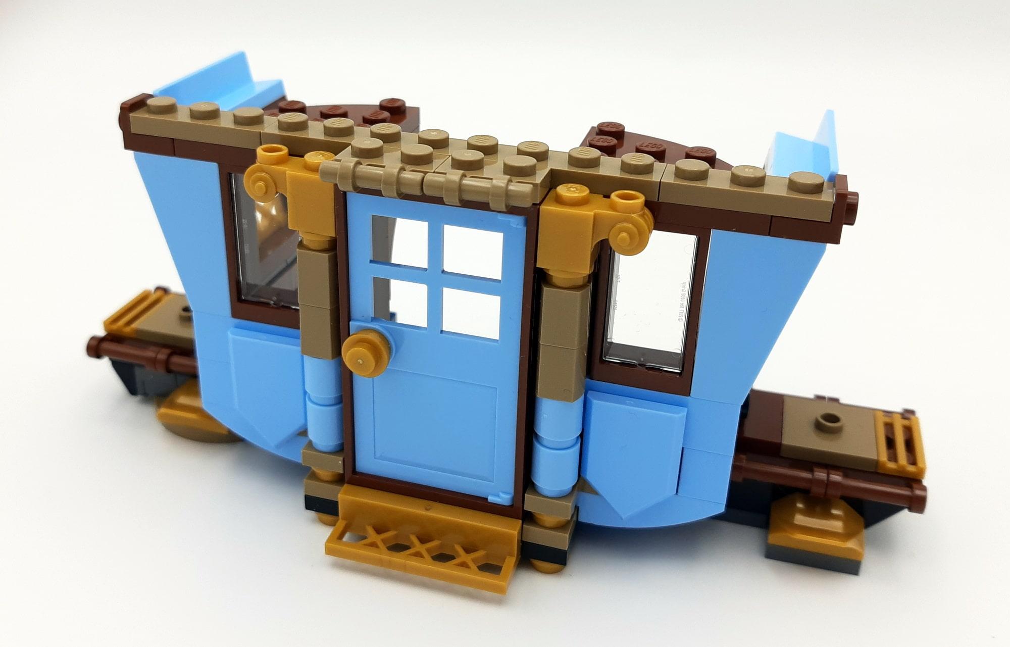 LEGO 75958 Harry Potter Beauxbatons Kutsche Bauabschnitt 1 Innen