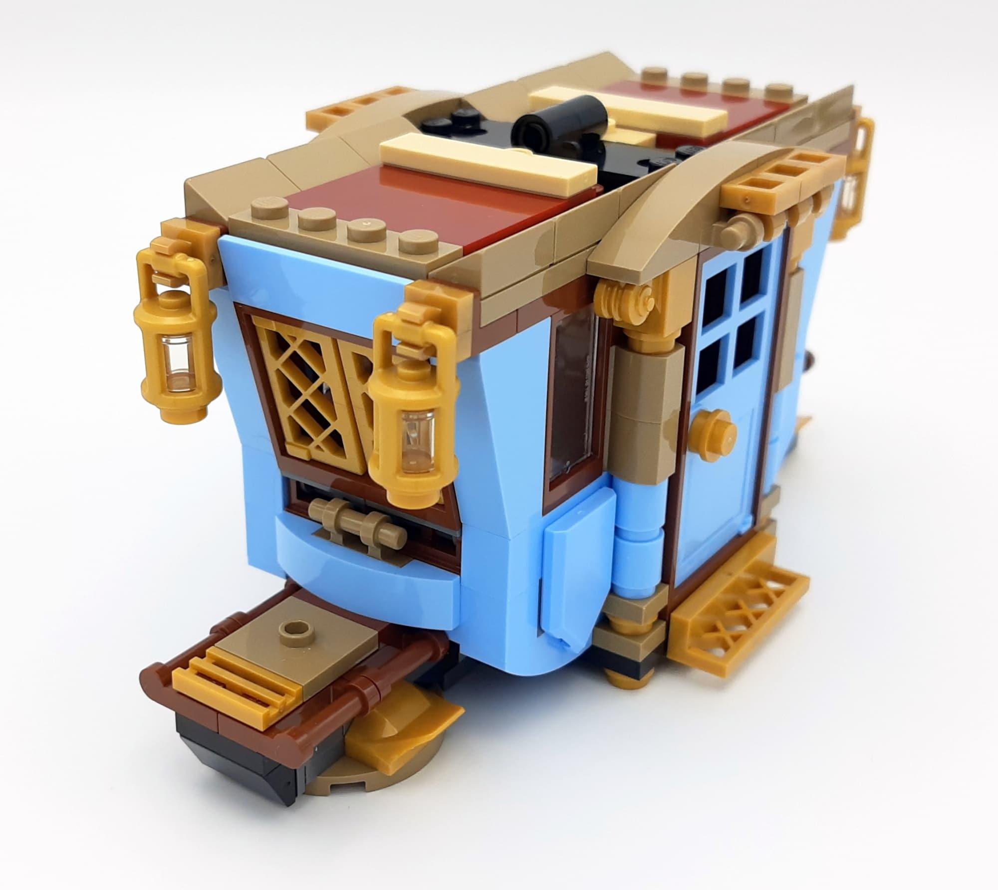 LEGO 75958 Harry Potter Beauxbatons Kutsche Bauabschnitt 2 Front