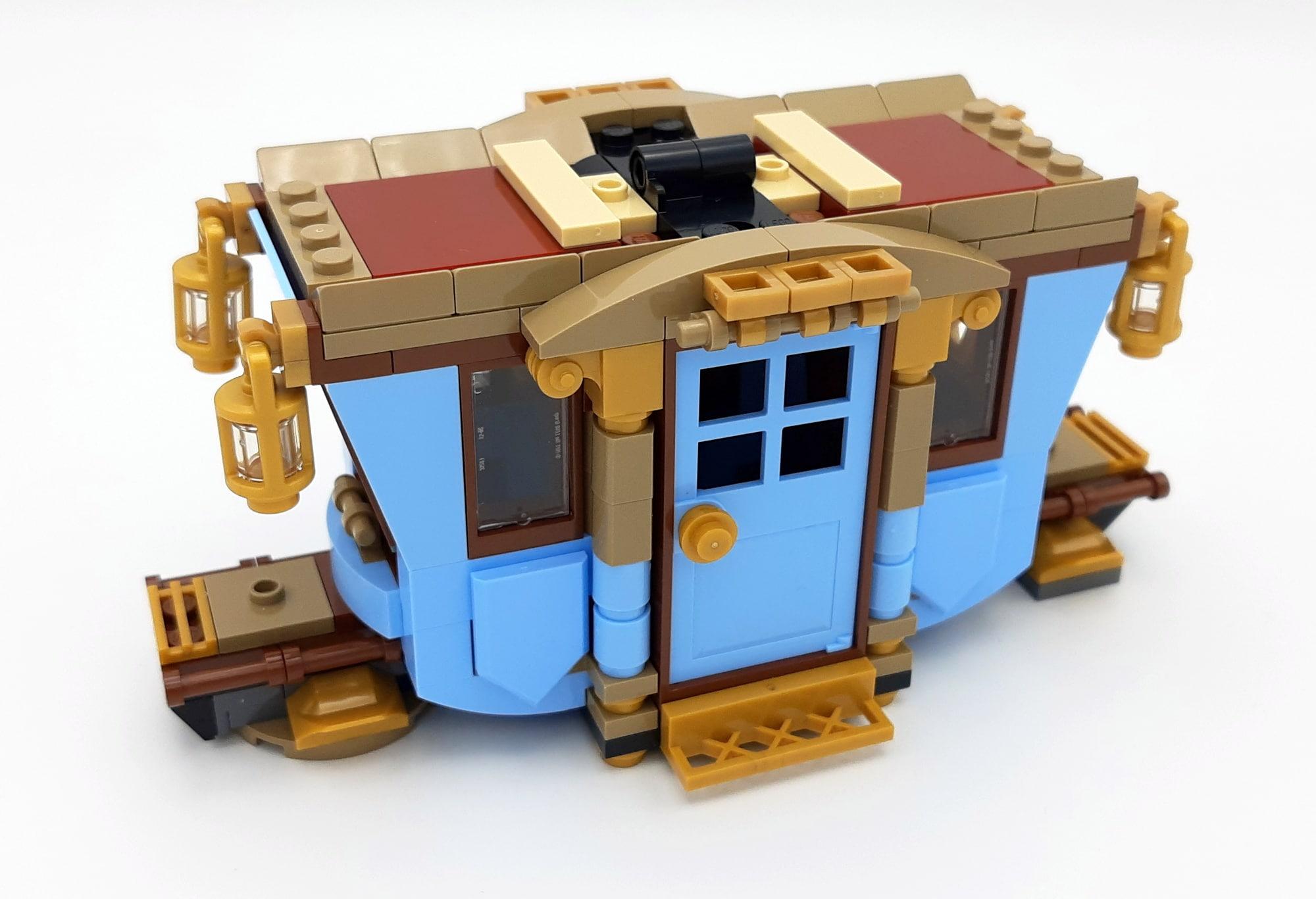 LEGO 75958 Harry Potter Beauxbatons Kutsche Bauabschnitt 2 Seite