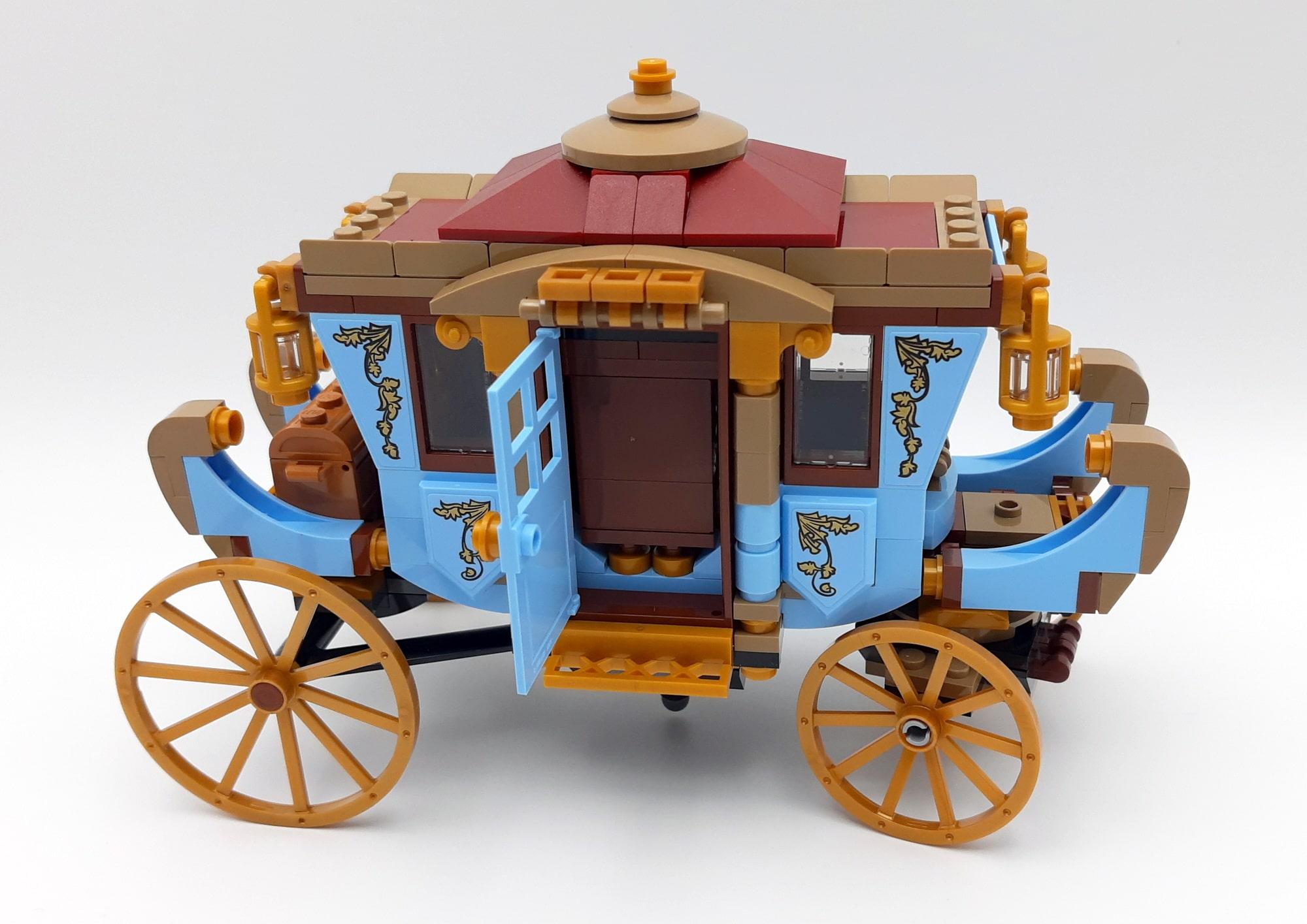 LEGO 75958 Harry Potter Beauxbatons Kutsche Detail Schrank Hinter Tür