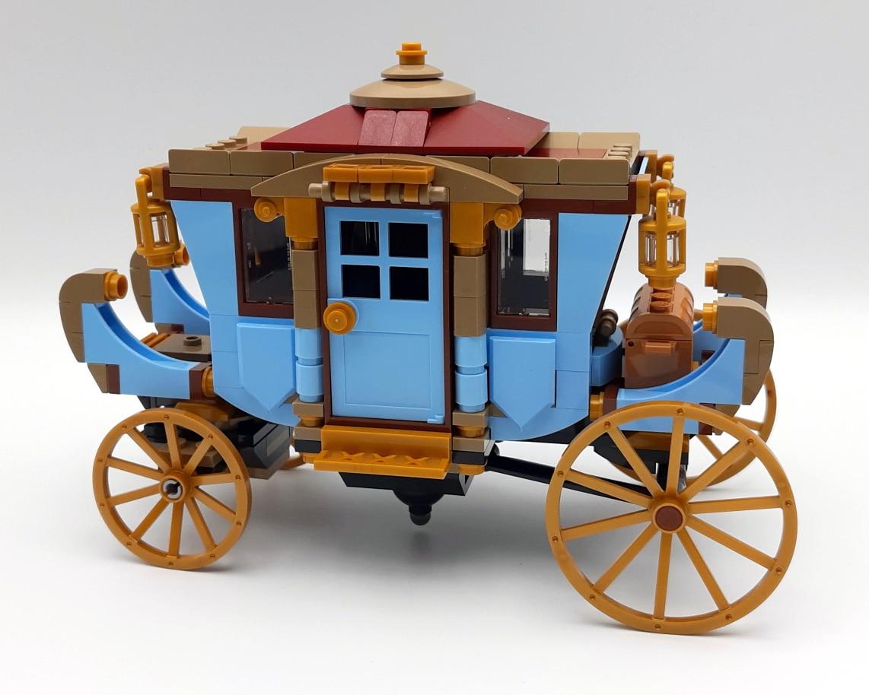LEGO 75958 Harry Potter Beauxbatons Kutsche Ohne Aufkleber