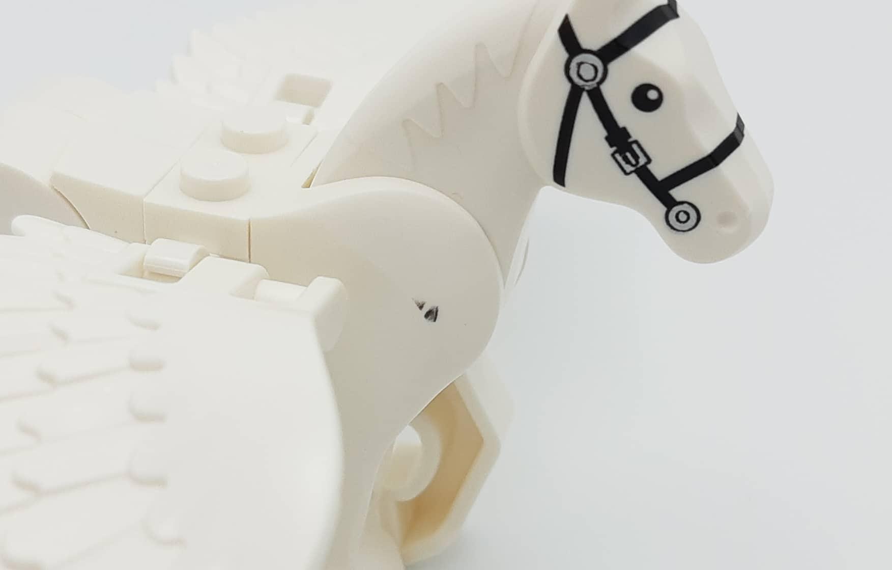 LEGO 75958 Harry Potter Beauxbatons Kutsche Pferd Fehldruck