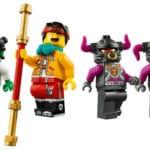 LEGO 80006 LEGO Monkie Kid Bike Des Wei En Drachenpferds 3