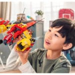 LEGO 80008 LEGO Monkie Kid Monkie Kids Wolken Jet 10