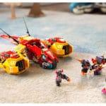 LEGO 80008 LEGO Monkie Kid Monkie Kids Wolken Jet 11