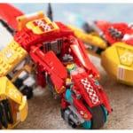 LEGO 80008 LEGO Monkie Kid Monkie Kids Wolken Jet 12