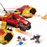 LEGO 80008 LEGO Monkie Kid Monkie Kids Wolken Jet 4