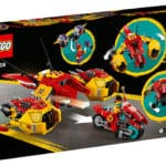 LEGO 80008 LEGO Monkie Kid Monkie Kids Wolken Jet 8