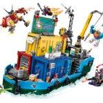 LEGO 80013 LEGO Monkie Kid Monkie Kids Geheime Teambasis 4