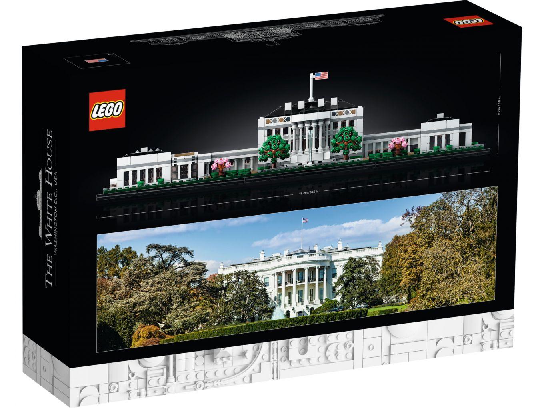 LEGO Architecture 21054 The White House (Box Rückseite)