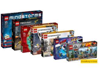 LEGO Einstellung in Kürze 2020