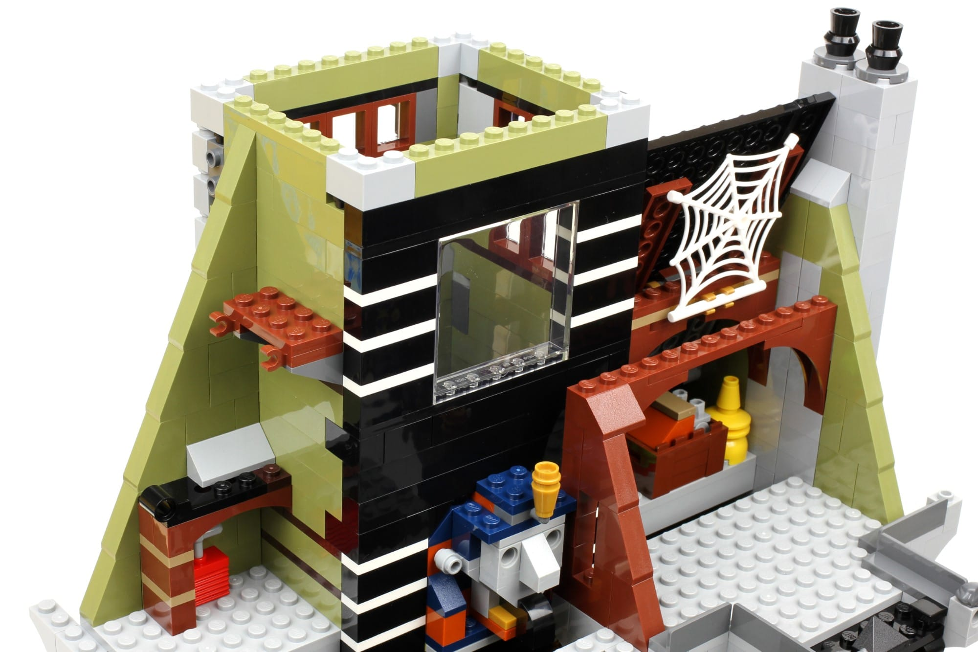 LEGO Fairground Collection 10273 Haunted House Aufbau Schritt 11 2