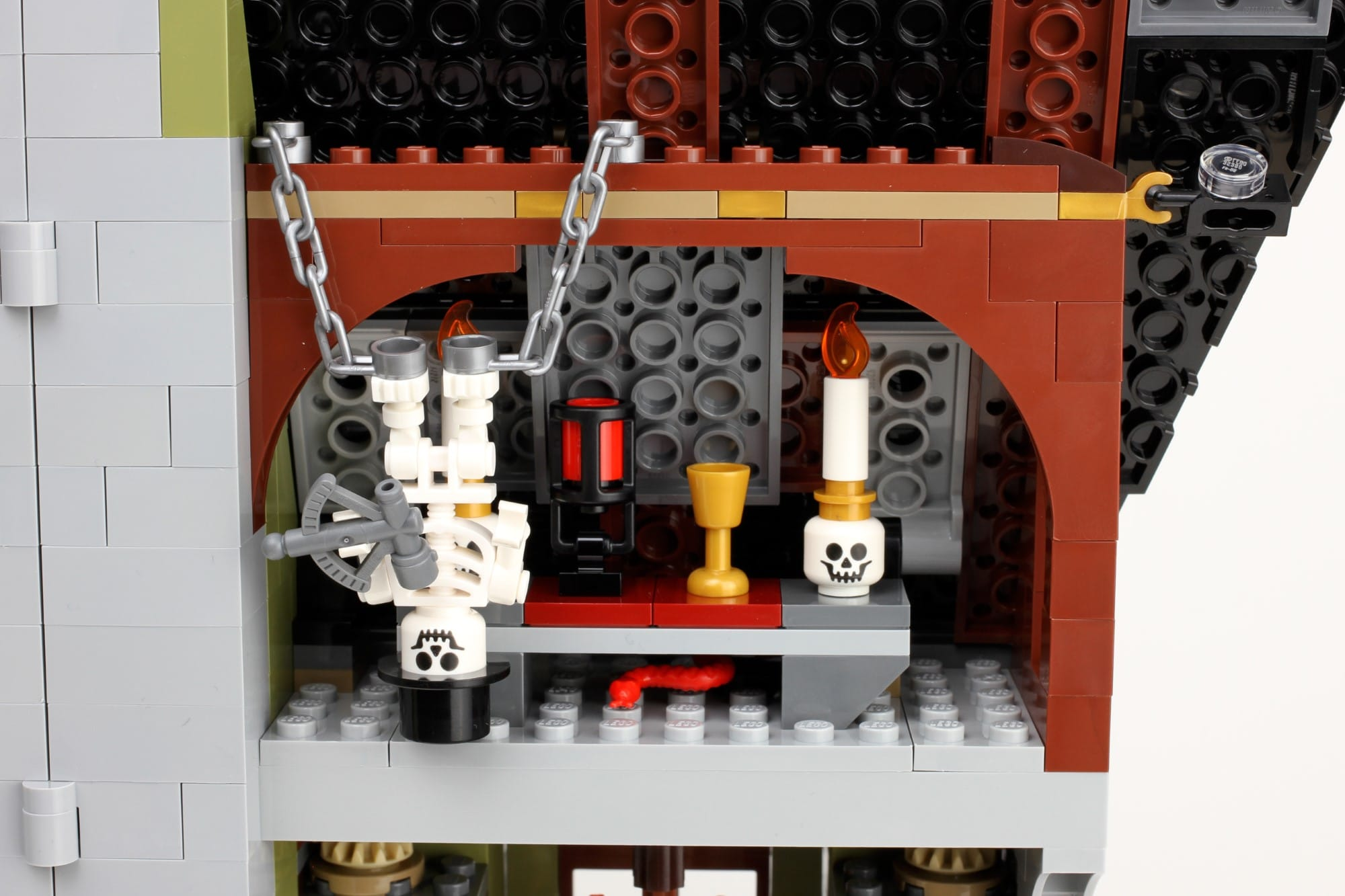 LEGO Fairground Collection 10273 Haunted House Aufbau Schritt 12 Detail 43