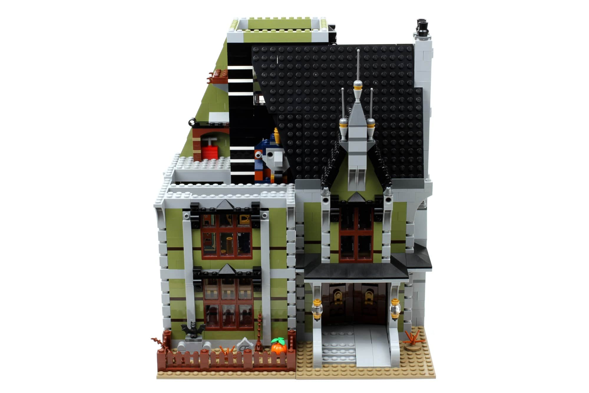 LEGO Fairground Collection 10273 Haunted House Aufbau Schritt 12