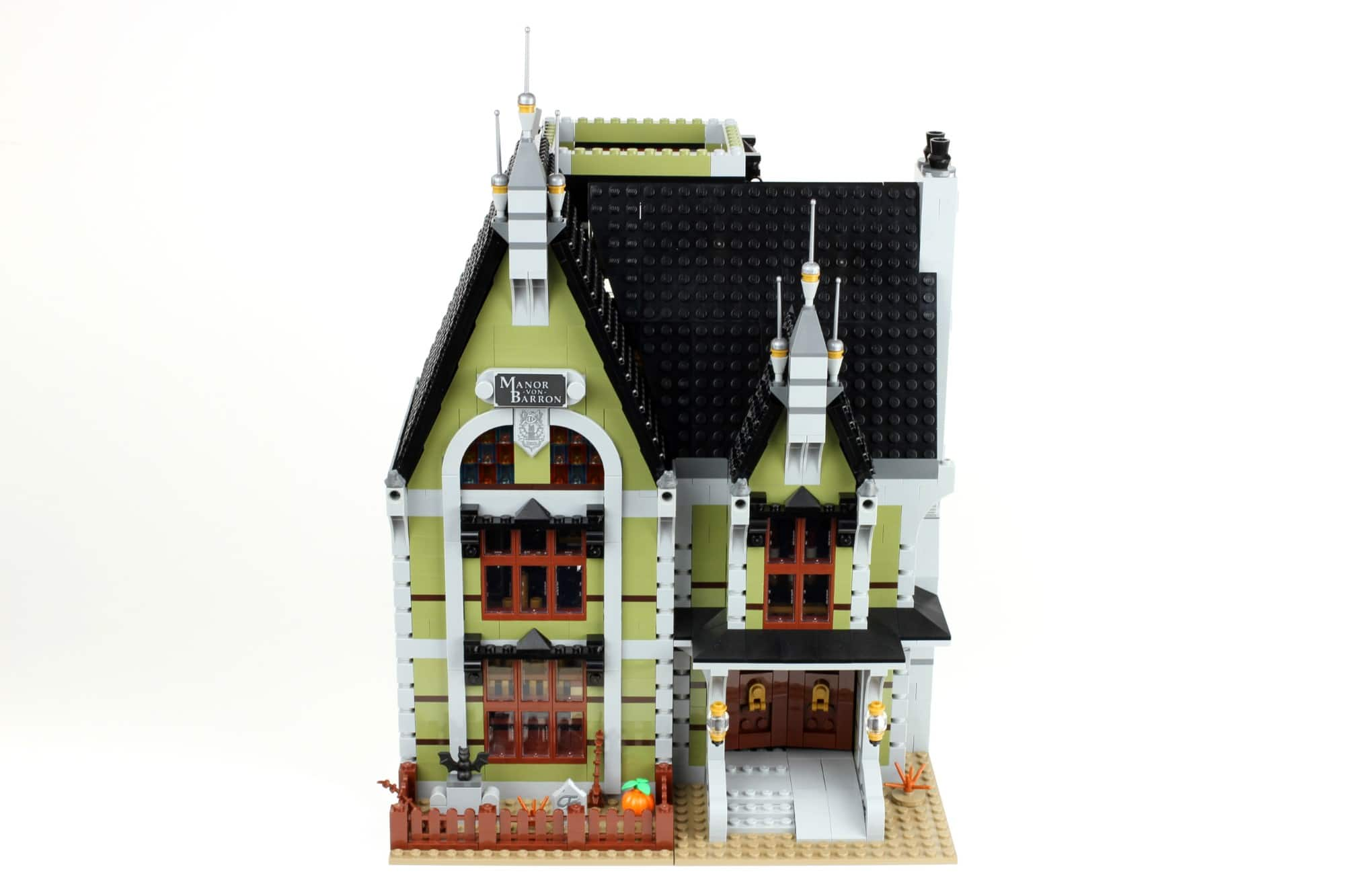 LEGO Fairground Collection 10273 Haunted House Aufbau Schritt 13 2